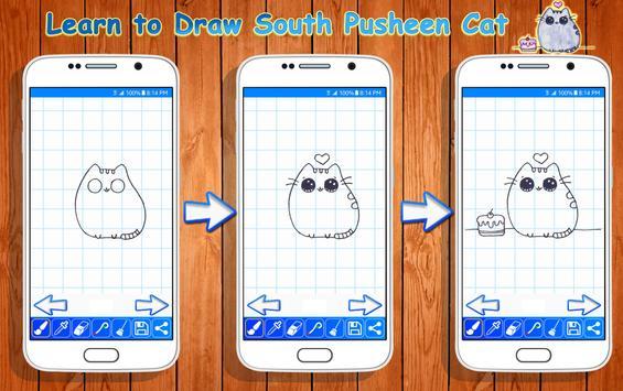 Learn to Draw Pusheen Cat Characters screenshot 1