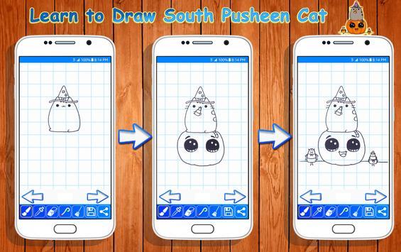 Learn to Draw Pusheen Cat Characters screenshot 2