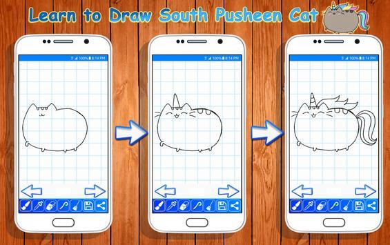 Learn to Draw Pusheen Cat Characters screenshot 4