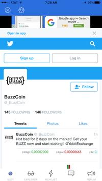 BUZZCOIN screenshot 1