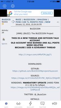 BUZZCOIN screenshot 2