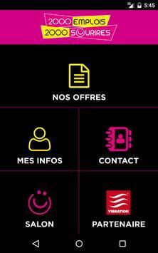 2000 Emplois - 2000 Sourires screenshot 5