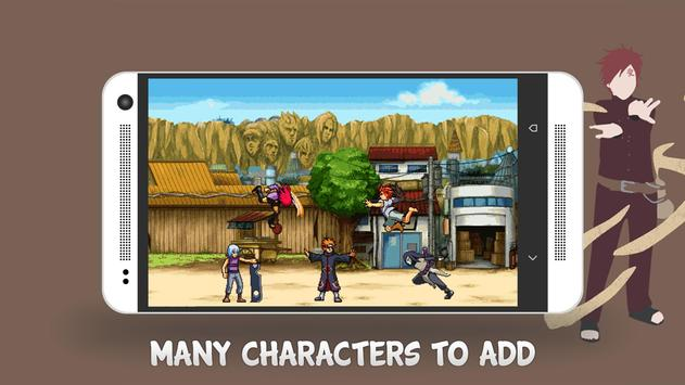 Ninja War: Konoha Defenders apk screenshot
