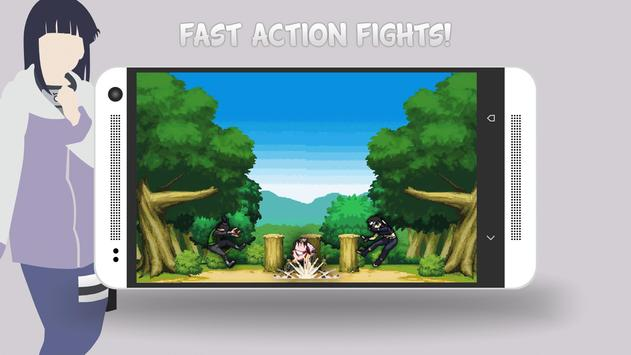 NinjaWar: Konoha Defenders apk screenshot