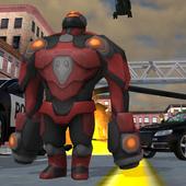 Police Iron Robot icon