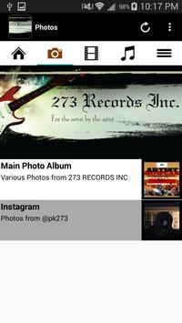 273 RECORDS INC apk screenshot