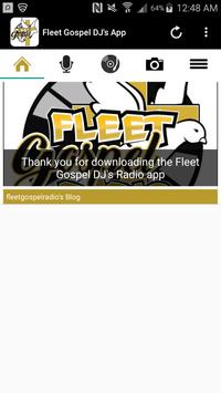 Fleet Gospel DJ's App screenshot 2