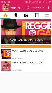 Reggie Gay - Gospel Music poster