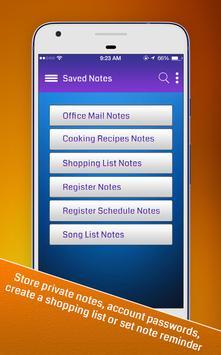 Notes. apk screenshot