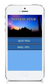 Mubarak Duain poster