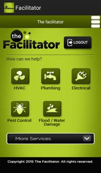 Facilitator screenshot 1