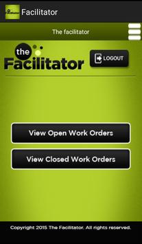 Facilitator screenshot 4