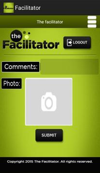 Facilitator screenshot 5