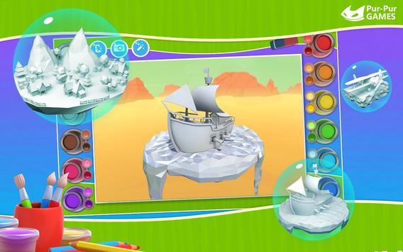 Cockatoo 3D Coloring Book Apk Screenshot