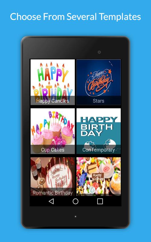 Uply Birthday Card App Screenshot 12