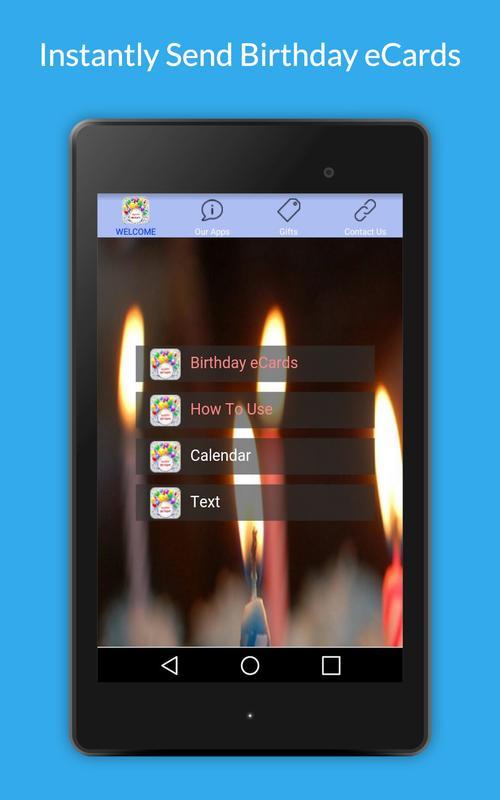 Uply Birthday Card App Screenshot 11