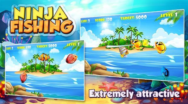 Ninja Fishing poster