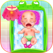Newborn Baby Caring icon