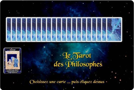 La carte des Philosophes poster