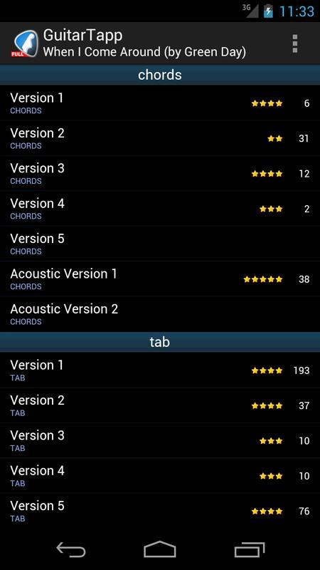 GuitarTapp - Tabs & Chords APK Download - Free Music & Audio APP for ...