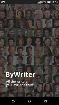 ByWriter poster
