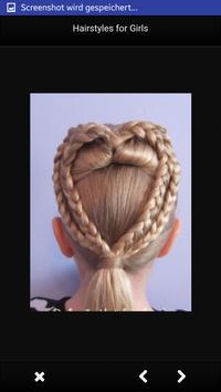 Hairstyles for Girls screenshot 5