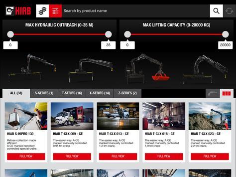 HIAB Product Catalogue apk screenshot