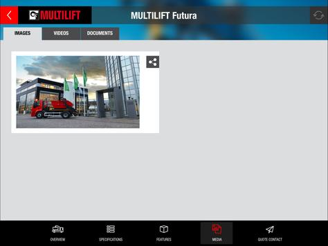 MULTILIFT Product Catalogue apk screenshot