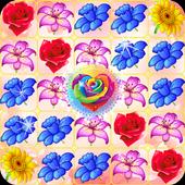 Blossom Crush Match 3 simgesi