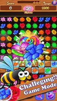 Blossom Crush Match 3 Ekran Görüntüsü 3