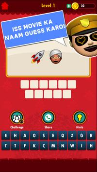 Bollywood Emoji Quiz screenshot 10