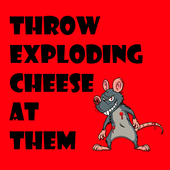 Throw Exploding Cheese At Them icon