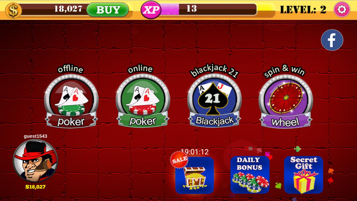 Poker Offline APK Download - Free Casino GAME for Android