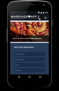 Marriage App poster