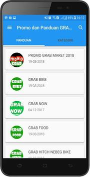 Grab Promo & Info apk screenshot