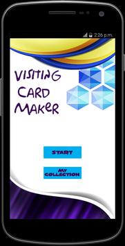 Visiting Card Maker 2017 poster