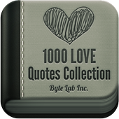 1000 Love Quotes Collection icon