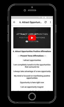 Positive Affirmations and Motivational Videos screenshot 1