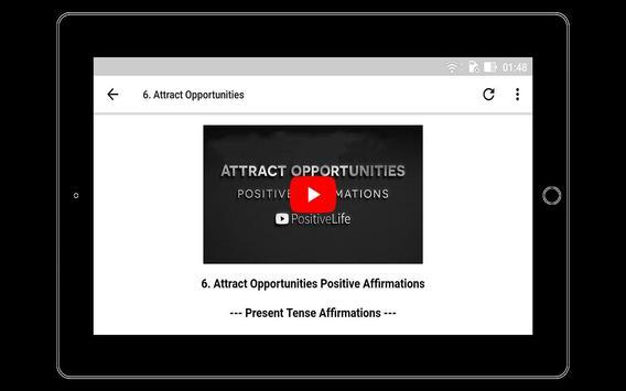Positive Affirmations and Motivational Videos apk screenshot