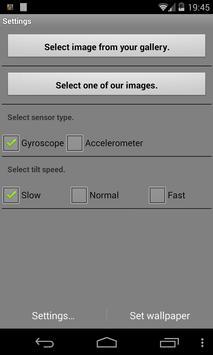 Snowflake Live Wallpaper Demo apk screenshot