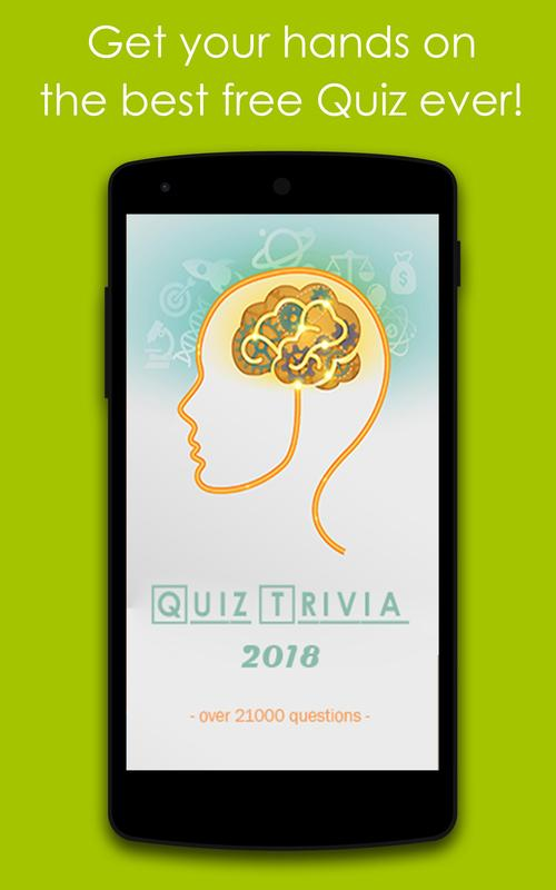 963505b64984 Quiz Trivia 2018 for Android - APK Download