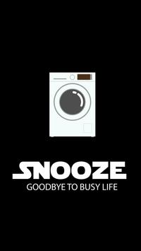 snooze poster