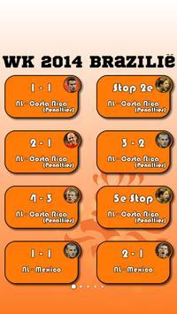 Oranje WK Commentaar poster