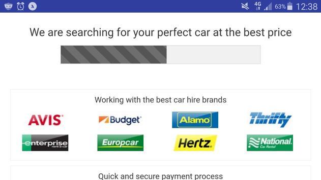 Car Rental Lite - Global Auto Rent -Worldwide Hire apk screenshot