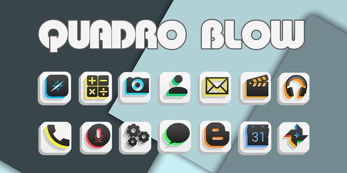 Quadro Blow - Solo Theme poster