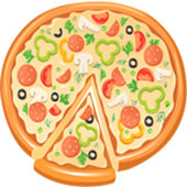 Child game Pizza mak icon
