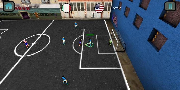 Soccer Match Competition 3D poster