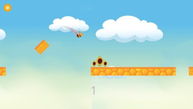 Jumping Bee Adventure screenshot 1