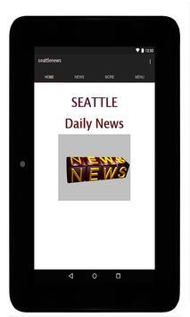Seattle News screenshot 1