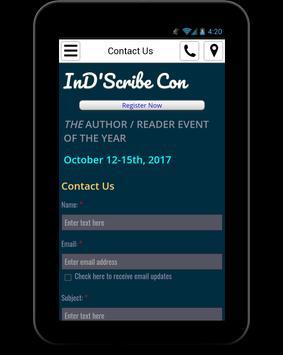 Indiscribe Book Festival apk screenshot